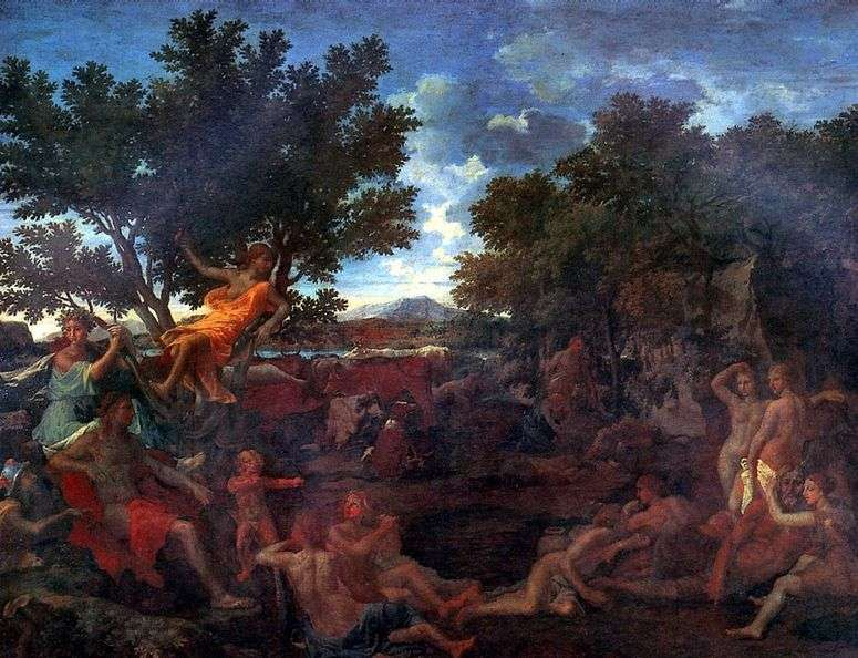 Описание картины «Аполлон и Дафна» — Никола Пуссен 👍 ...