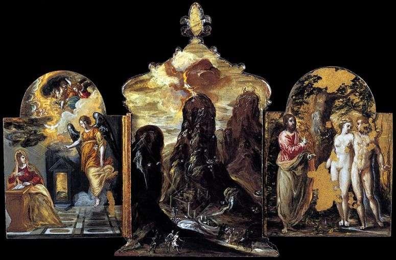 Описание картины «Моденский триптих» — Эль Греко 👍 - Греко Эль