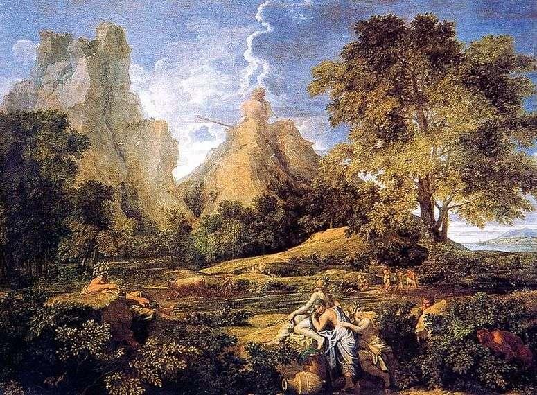 Описание картины «Пейзаж с Полифемом» — Никола Пуссен&;amp ...